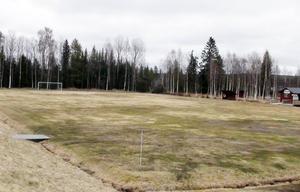 Gladvallen i Rätan. Rätans IF spelade seriefotboll från 1940-talet fram t.o.m. våromgången 1964