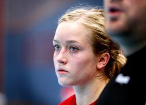 Elsa Pettersson missar torsdagkvällens match mot Skövde.