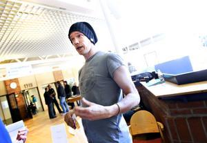Jörgen Appelgren är lärare för Gävles sprillans nya  teaterutbildning för vuxna.