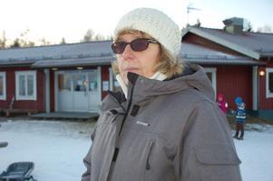-Vi har en hemtrevlig och mysig anläggning här, säger ansvarig för skidskolan i Granberget Lotta Yttergren.