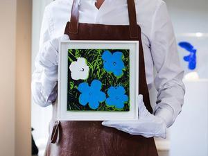Andy Warhol-tavlan som såldes för 4,84 miljoner kronor.
