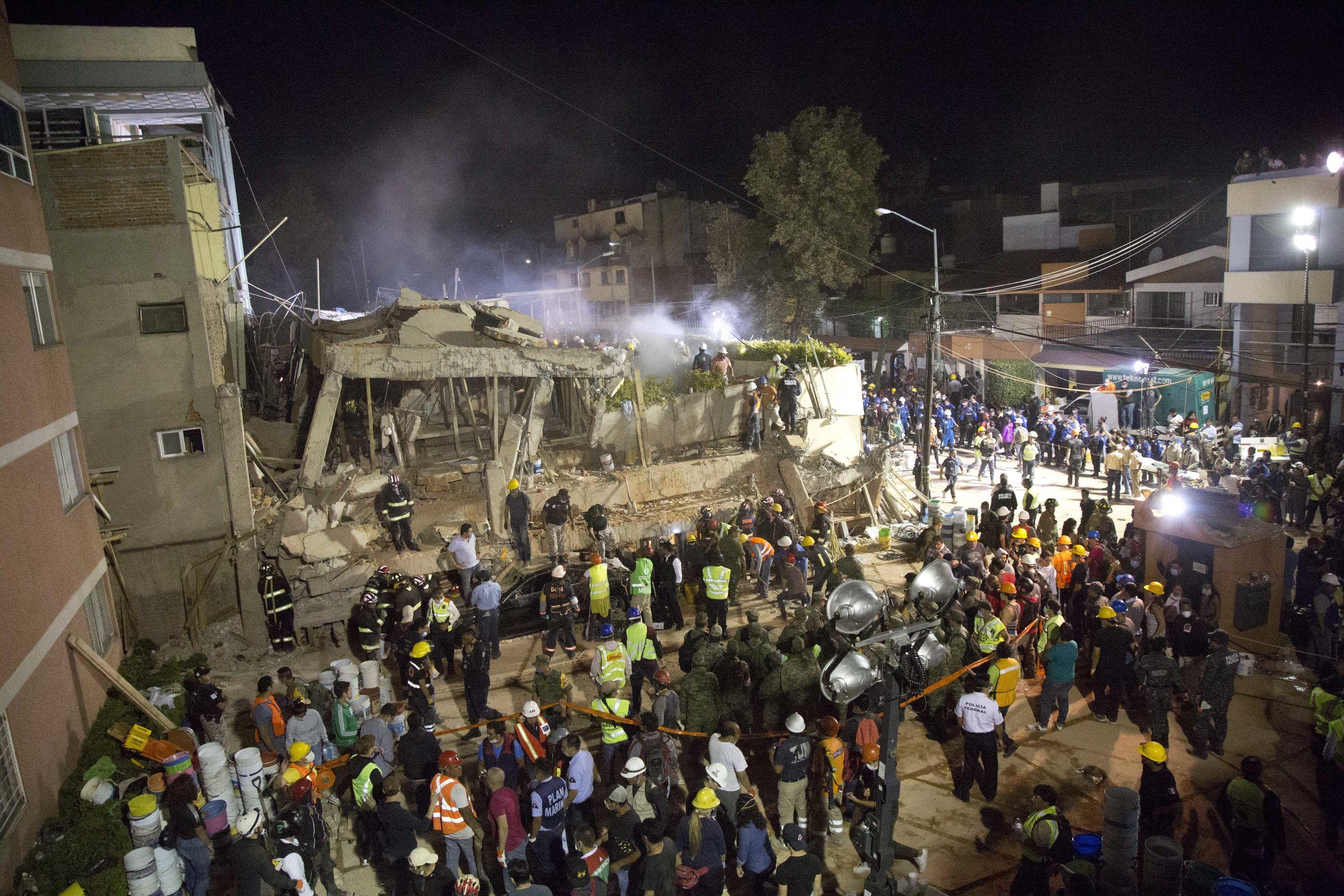 Vm arena drabbad av jordbavning