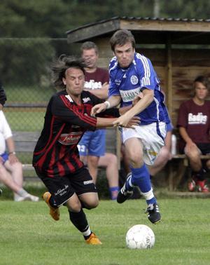 Det var stundtals lite gruffigt i gårdagens match mellan Delsbo och Forsa.