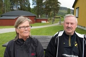 Här blir det jubileumspartaj hela (lör-)dagen och långt in på småtimmarna. Ingrid Hammarberg och Roy Olsson har sörjt för ett fullspäckat program, både på fotbollsplanen, i omgivningarna och inne i den välkända danslokalen.