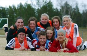 Damlaget i division 3 symboliserar nytändningen i Svegs IK.