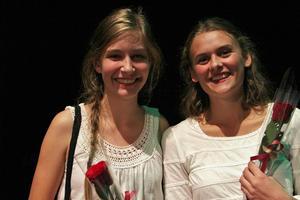 Hedersomnämnande fick Solina Magnusson och Lovisa Lindh från Kilafors för sitt stycke Ennim-Artsys som de både koreograferat och dansade tillsammans.