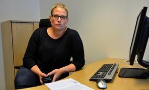Veronica Andersson, chef för utredningar av grova brott vid polisen i Västernorrland.