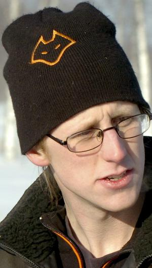 Nöjd. Joel Lindberg var nöjd med uppslutningen med tanke på kylan.  BILD: MICHAEL LANDBERG