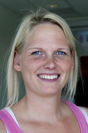 Marie Andersson, 32 år, Karlholmsbruk:– Nej, jag tycker inte om groddar och jag är inte rädd för ehec.