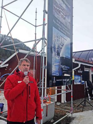 Ytorna för skidåkning fördubblas, konstaterar Torgny Svensson, chef för Skistar Vemdalen.