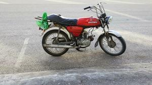 Den gamla mopeden som blev stulen...