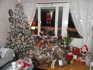 Vår julgran år 2010.