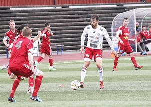Per Lööf visade vägen med två mål när Hudiksvall vände underläge till seger med 2-1 mot Härnösand.