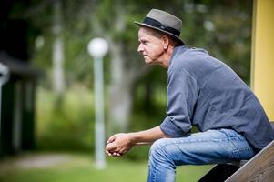 Den här bilden togs inför dåvarande Perssons Pack sista spelning i Hälsingland, i parken i Alfta 2014.