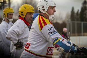 Lasse Bolin och Stefan Skeppar var med på premiärmatchen.