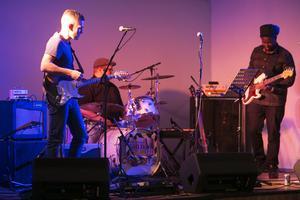 Shady River spelade blues som uppskattades av publiken