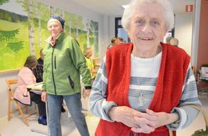 En viktig dag för seniorerna. Mona Jansson uppskattade initiativet med en särskild dag vikt för information och samtal om seniorernas säkerhet i vardagen.