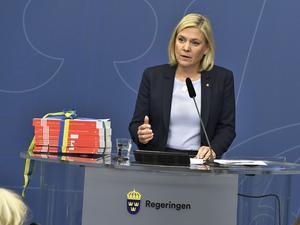 Finansminister Magdalena Andersson (S) presenterade under onsdagen regeringens budgetproposition.