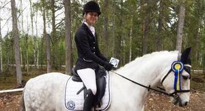 Amanda Lavett/Murgårdens Fendi, Högbo RK, vann på 65 procent.