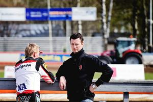 Fredrik Lindgren och Daniel Andersson Bäckström.