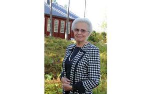 Marja Kilpiö, (POSK) har de senaste åren varit kyrkorådets ordförande i församlingen.  Foto: Sven Thomsen/DT