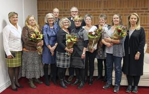 Milvi Lebbin, Eva Söderman, Sven Kanth, Marlene Ehrling, Per Borssén, Agneta Nyberg Karlsson, Lena Sundkvist, Carina Angantyr, Agneta Eriksson, Yvonne Friberg.