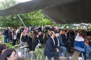 Sommartorsdag på Rosehills lockade många besökare.
