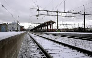 Ånge station stängs för tågtrafik hela påskafton.