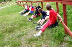 Juniorerna från Stockviks skidförening har hållt i ett skidläger på tre dagar med ungdomarna från sin egen förening och de inbjudna ungdomarna från Njurunda skidklubb. Det är inte bara skoj och lek. Vill man vara bra skidåkare gäller det att träna hårt.