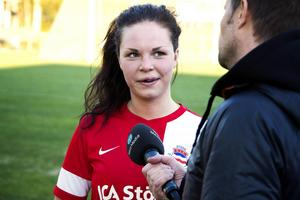 Anna Edin svarade för sex fullträffar i bortamötet mot Ljustorp i damtrean.