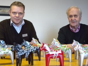 Siljans Chark är ett lönsamt bolag med många premiumprodukter, förklarar Jonas Estéen och Nils-Erik Johansson. De tvekade aldrig att bilda bolag för att rädda säkra dalaägandet i slakt- och charkföretaget.