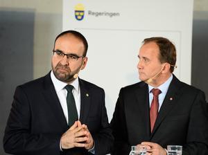 STOCKHOLM 2015-08-26Kaplan och Löfven.