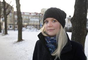 Sanna Forsman skulle skicka sin bild till Kalmar.