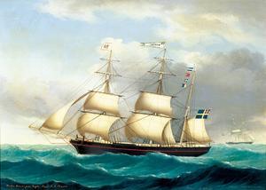"""Några fartyg var döpta efter medlemmar av släkten, som """"Daniel""""."""