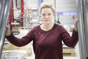 I tio år har Maria Thor arbetat med kvalitets- och miljöarbete på Trux i Ljusdal.