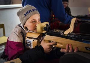 Ludvig Berg, 10 år, från Tallåsen gjorde fina resultat.