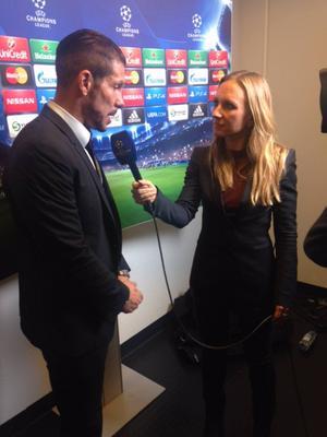 Tisdag, Swedbank Stadion: Atletico vann med 2–0 trots stark insats av Malmö. Diego Simeone berömde svensklaget men det var till liten tröst för MFF, som hade behövt sätta sina chanser samt ha haft domaren på sin sida.