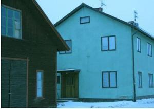 Nu rivs snart gröna huset intill Hesseborns i Leksand. Foto: Eva Högkvist