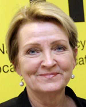 Pia Enochsson, generaldirektör på myndigheten för yrkeshögskolan i  Västerås.