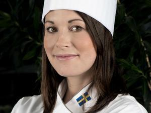 Sandra Lindbom, finalist i Mack-SM 2017 och till vardags verksam vid Kopparlundens bageri.