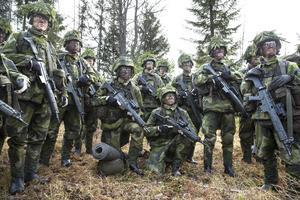 Gruppen består av 25 stycken rekryter - 4 kvinnor och 11 män, de flesta mellan 18 och 21 år.