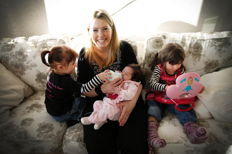 Ensamma mamman blev lycklig bloggare