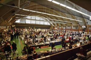 Omkring 2000 personer besökte antik- och syfestivalen i förrgår. När GD kom på besök i går var det också välfyllt.