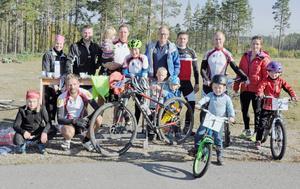 Svegs IK cykel räknar in fler aktiva för varje månad. Härjedalsserien i MTB väcker intresset för många nya cyklister.