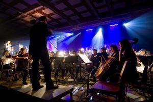 Anders Rosengren ledde orkestern.