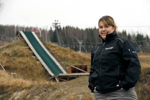 Martina Svensson, platschef på Kungsberget.