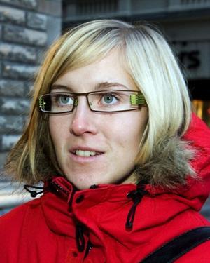 Victoria Hübinette, lärare, 34 år, Sundsvall.– Det beror på vart i Indien jag skulle åka.