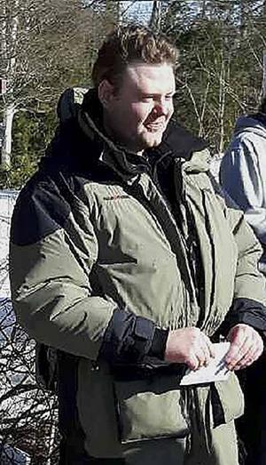 Segraren Markus Hansson från Bollnäs är mycket nöjd med dagen i Trönö.