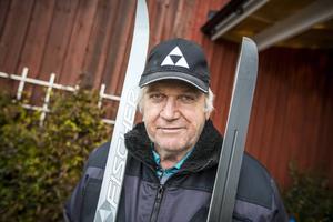 Thomas Magnuson tog VM-guldet på 30 km i Falun-VM 1974.