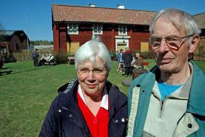 VIKTIGT. Kerstin Eriksson och Göran Lööv, från Hållnäs, har demonstrerat i över 30 år.